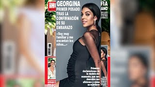 Ronaldo será padre de nuevo, Georgina confirma su embarazo