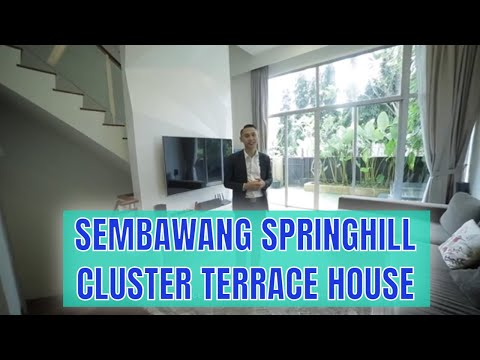 Singapore Landed Property Listing Video - Sembawang Springhill Cluster House