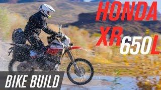 Honda XR650L Adventure Bike Build