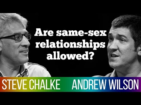 Does Scripture Forbid Gay Relationships? Steve Chalke Vs Andrew Wilson - Bible Debate #4