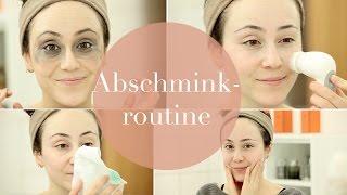 Abschminkroutine I anschließende Hautpflege I Hautreinigung