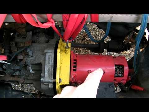 1998 Honda CRV gas to electric conversion EV Electric Car