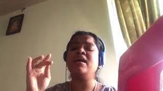 Shruthi B Kurai Onrum Illai Shivaranjani part Sahithyam - Learn Carnatic Music