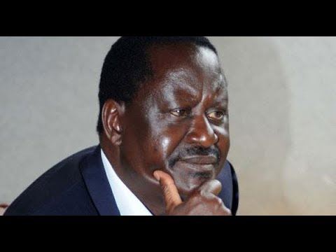 Raila Odinga: Jubilee plans to switch off EVID in all their strongholds at 12 noon tomorrow