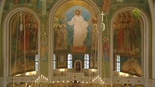 Божественная литургия 16 апреля 2020 г., г. Москва, Сретенский мужской монастырь