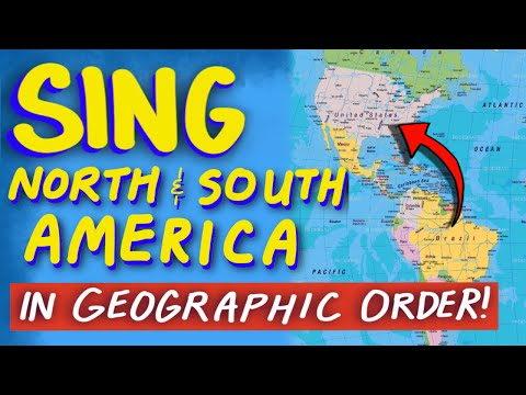 North and South America Countries Song - From
