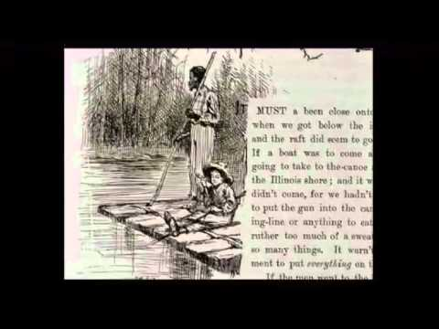 An analysis of the story huckleberry finn