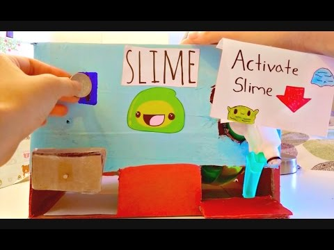 Homemade Slime Vending Machine(requires $)