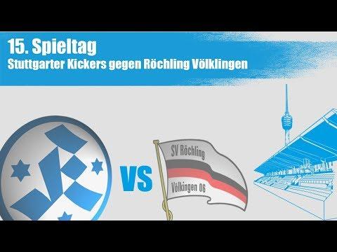 15. Spieltag, Stuttgarter Kickers vs. Röchling Völklingen - Spielbericht