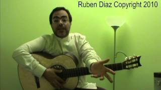 Flamenco...What is Flamenco for you...?  Ruben Diaz  &  Guitar  CFG studio Malaga