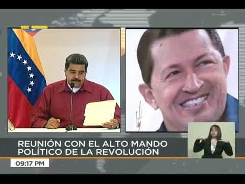 Nicolás Maduro se reúne con el Alto Mando Político de la Revolución, 17 mayo 2018