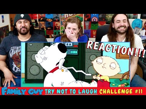 FAMILY GUY TRY NOT TO LAUGH CHALLENGE! l Family Guy Funniest Moments #11 REACTION!!!