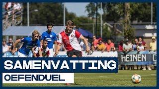 HIGHLIGHTS | Feyenoord-jeugd laat zich zien bij debuut Jaap Stam
