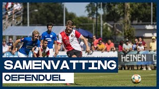 Samenvatting Feyenoord - SDC Putten (vriendschappelijke wedstrijd Eredivisie)