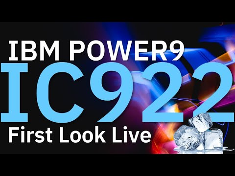 IBM POWER9 First Look IC922 Server