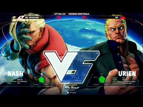Bonchan (Nash) vs RB (Urien) - CPT North America - Last Chance Qualifier