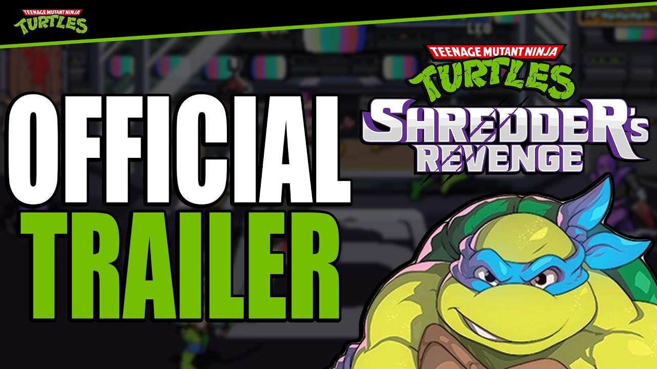 Download Teenage Mutant Ninja Turtles: Shredder's Revenge - Official Reveal Trailer