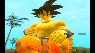 GTA SA EVOLUTION DOWNLOAD SKIN GOKU DA SAGA FREEZA v2 By Diego4Fun FULL HD 1080