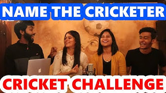 Name The Cricketer Challenge - Cricket Challenge - Guess The Cricketer