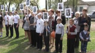 К юбилею Победы в селе Шмарное торжественно открыли обновленный мемориал