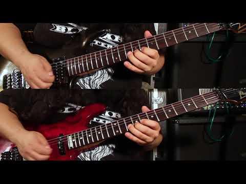 Lucho Sánchez - Deep Purple Highway Star Guitar Solo (2 Guitars)