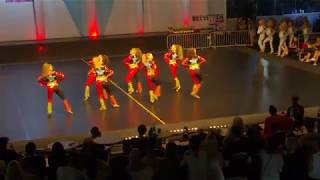IDO Disco Dance World Championships 2017, small group adults, 1st place, 2paDance Stars