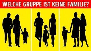 Psychologie-Detektive: Rate, wobei es sich nicht um eine Familie handelt