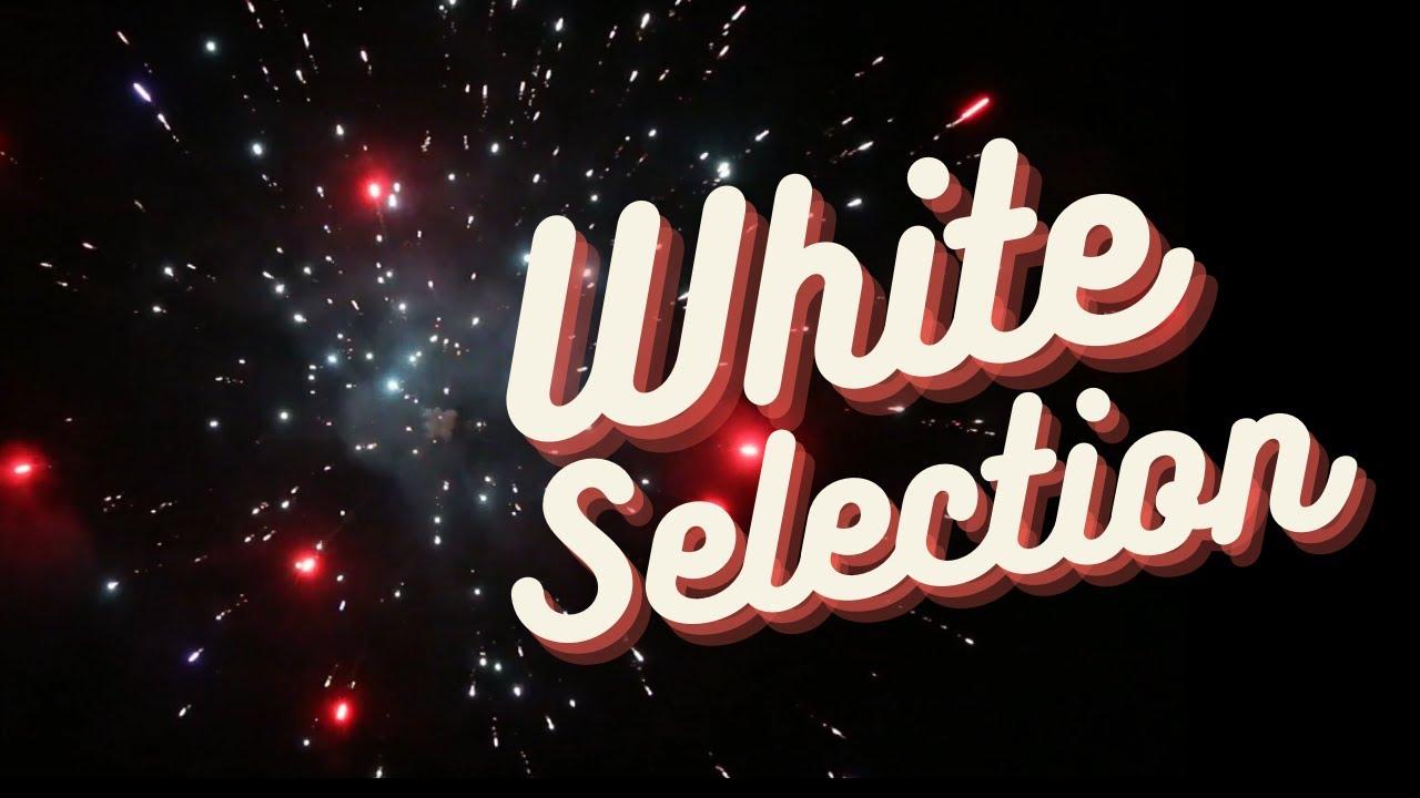 White Strobe Cakes Selection BW1512,1525,1578. Bling bling bling!