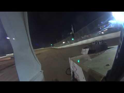 Duck river speedway mod lite in car camera heat race Blake Wilson