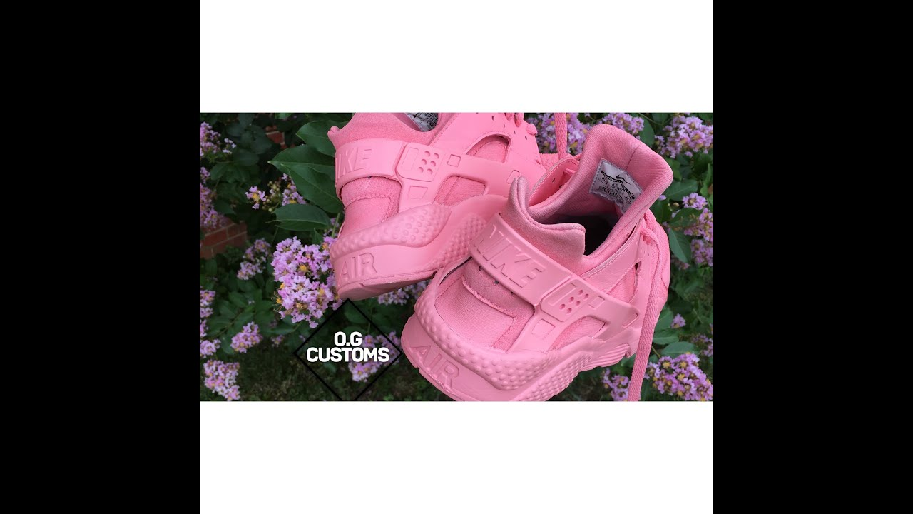 official photos ce3bd 7b439 all pink huaraches
