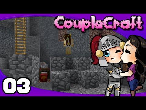 CoupleCraft - Ep. 3: Aura Cascade Ore Doubling   Minecraft Modded Survival