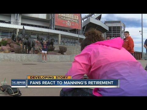 Fans react to Peyton Manning