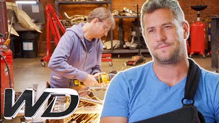 The Crew Helps Ant After He Suffers An Injury | Ant Anstead Master Mechanic