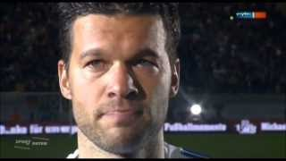 Michael Ballack (C) vs World XI and Ballack & Friends (Home) 480p [German Commentary]