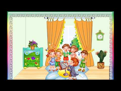 Музыкально-дидактическая игра для дошкольников - Что делают в домике?