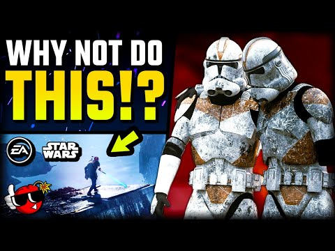 EA Star Wars WASTED opportunity... |