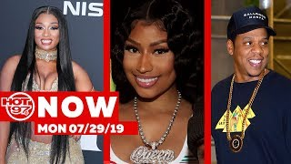 Nicki Minaj + Megan Thee Stallion Bond On IG + The Dream Pulls A Diddy + Jay Z Dances To Soca