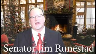 Merry Christmas from Senator Jim Runestad