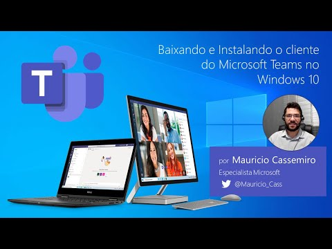 Baixando e Instalando o cliente do Microsoft Teams para Windows