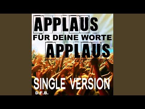 Applaus, Applaus