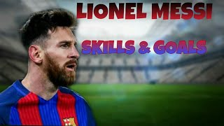 Lionel Messi ⚫ Skills and Goals