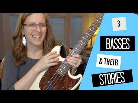MY BASS COLLECTION!
