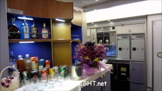 Cabin Tour : Airbus A380 Thai Airways International : The Smoothest Way to Fly