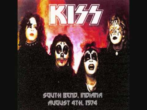 Kiss - 100,000 Years Live South Bend, In. (1974) mp3