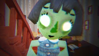 MY NEW NEIGHBOR IS ZOMBIE MYA DOLL - Hello Neighbor Act 3