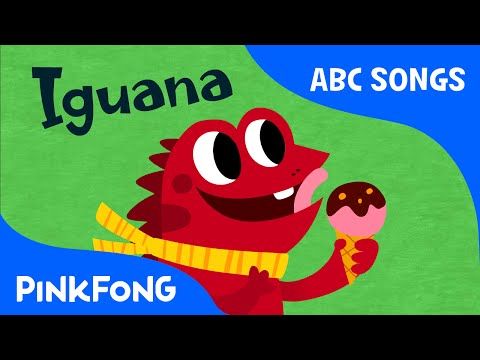 I | Iguana | ABC Alphabet Songs | Phonics | PINKFONG Songs for Children