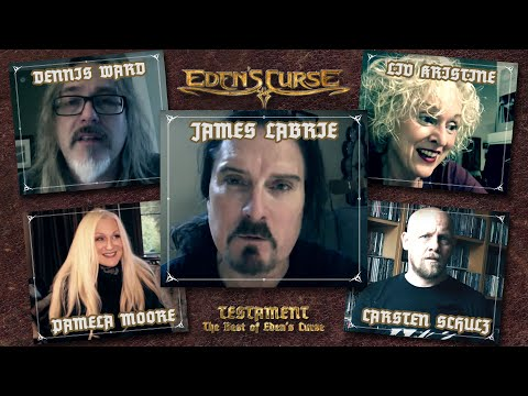 EDEN'S CURSE: Testament - The Best Of (2018) EPK // James LaBrie // Liv Kristine // Pamela Moore Mp3