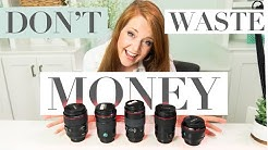 Grow Your Prime Lens Collection the RIGHT Way (Portrait & Wedding Photographers)