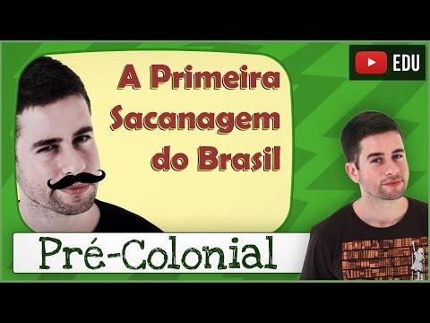 Período Pré-Colonial (ou A Primeira Sacanagem do Brasil)