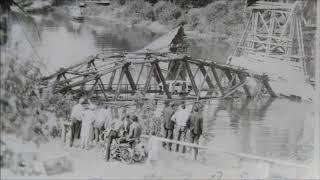 Тюмень. Старые мосты. Панорамы Затюменки и Зареки.